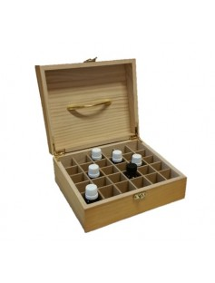 Wooden Essential Oil Box (30 Compartment)