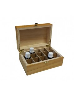 Wooden Essential Oil Box (15 Compartment)