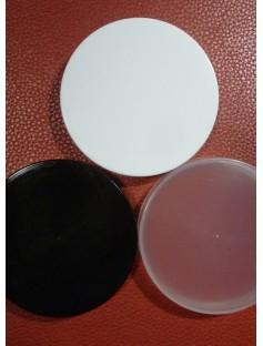 Plastic Cap for 250 / 500 mL Cosmetic Jar BLACK