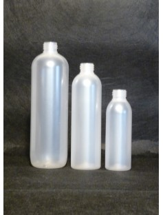 Plastic 125 mL Bottle FROSTED (24-410 Neck)
